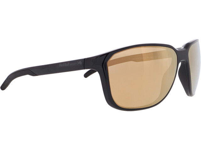 Red Bull SPECT Bolt Sunglasses Men, shiny black/brown-bronze mirror